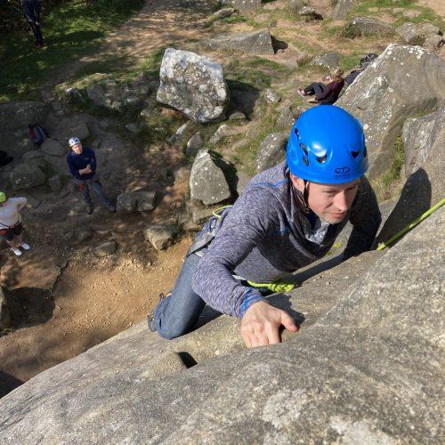 Rock Climbing Brimham